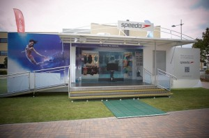 Speedo Exhibition Trailer